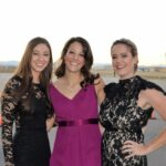 Monica Hendrix, Ashley Thompson, and Paige Foy
