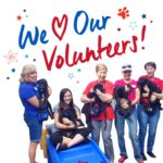 We love our volunteers!